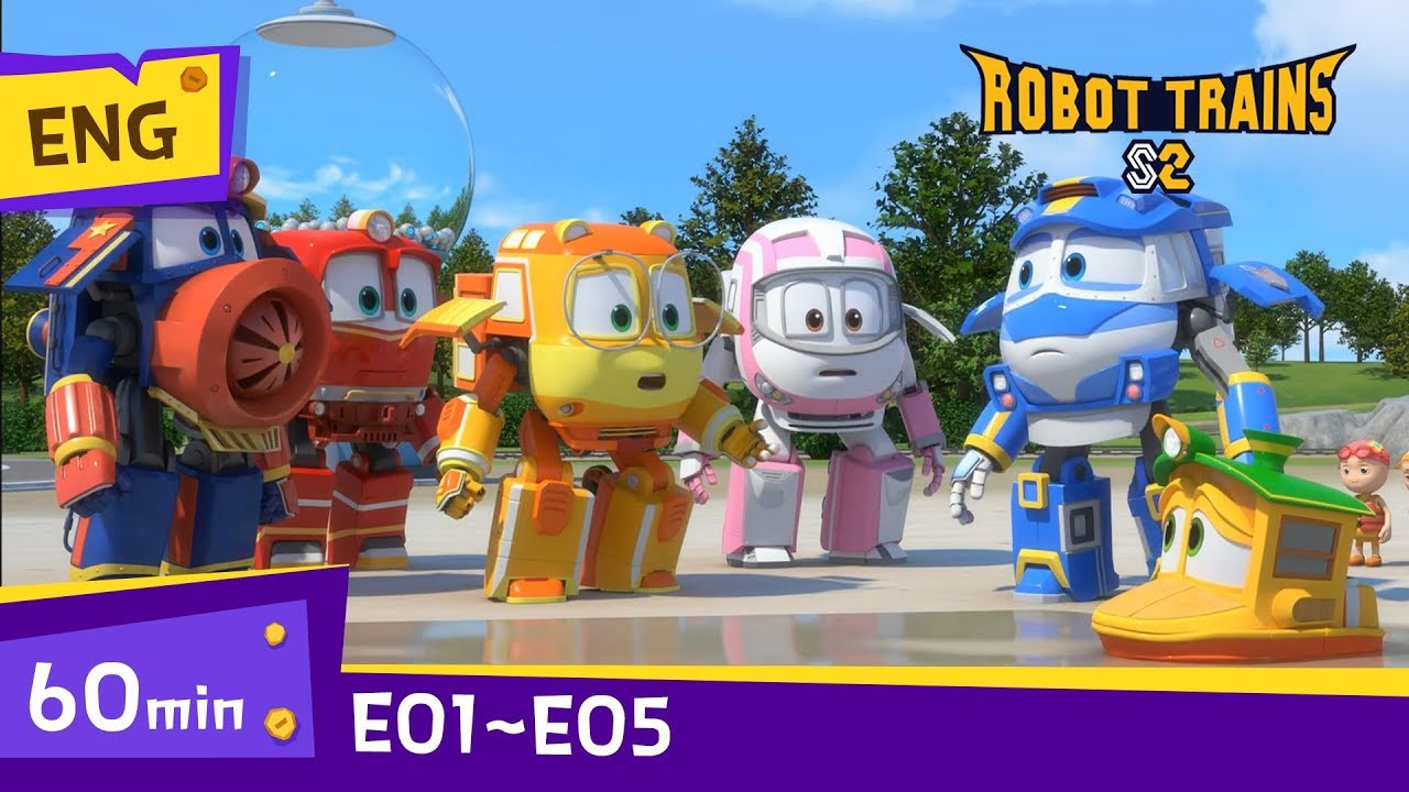 Download Robot Trains S2 | EP01~EP05 (60min) | Full Episodes