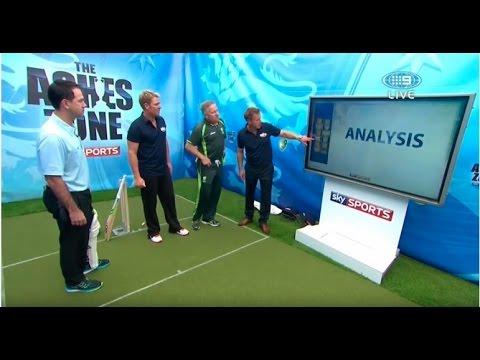 warney bowling  healey wicket keeping
