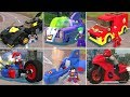 All Vehicles in LEGO DC Super-Villains
