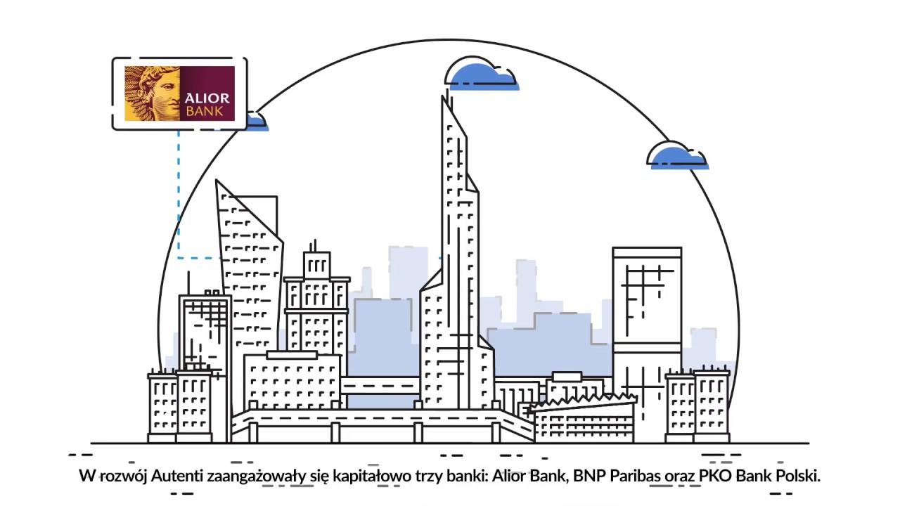 3 banki 1 fintech - inwestycja w Autenti