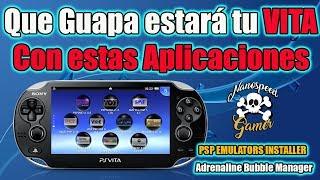 PSP Emulator Installer y Adrenaline Bubble Manager - Que CHULADA para tu PSVITA