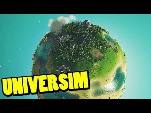 UNIVERSIM - Mi propio planeta (PRE-ALPHA) | Gameplay Español