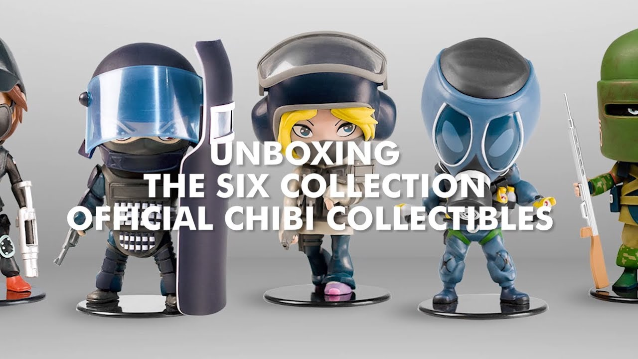 Ubisoft Rainbow Six Siege IQ Chibi NEW IN BOX Collectible Figure