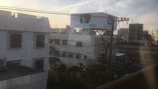 若桜鉄道・因美線 車窓[2/2]郡家→鳥取/ WT3300形  若桜15165発(鳥取行)
