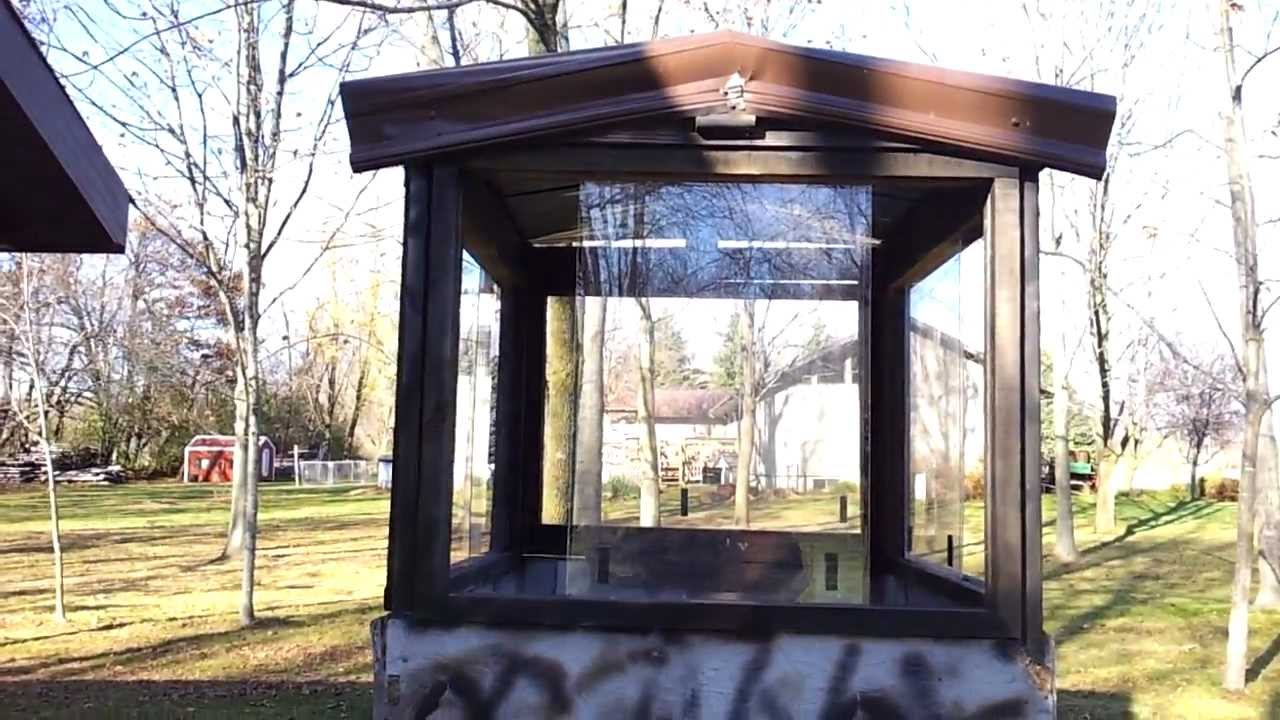 How To Make A Deer Hunting Stand On Trailer With Windows