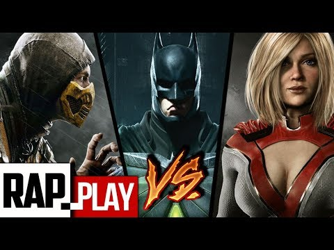 Download INJUSTICE 2 VS MORTAL KOMBAT VS... EPIC RAP!! | KRONNO ZOMBER | ( Videoclip Oficial ) Images