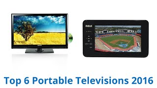 6 Best Portable Televisions 2016