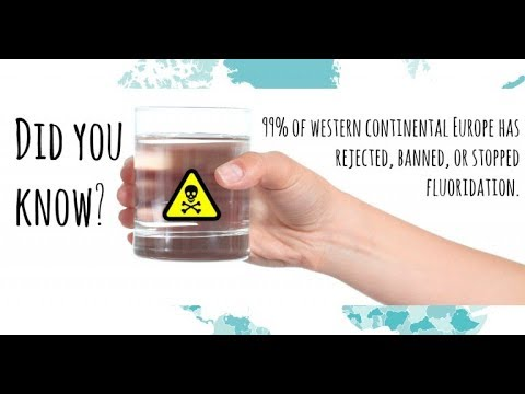 Sun Water vs Tap Water Fluoride Test