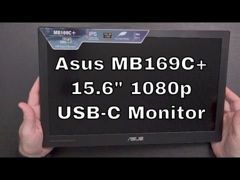 "15.6"" 1080p USB-C External Monitor? Asus MB169C+"