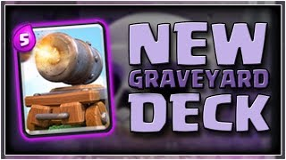NEW Meta GRAVEYARD | Cannon Cart Graveyard Deck in Clash Royale