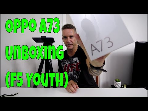 Oppo A73 Unboxing (F5 Youth)