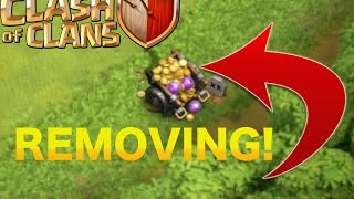 """Clash of Clans - """"NEW"""" REMOVING LOOT CART IN COC! 2016 LOOT CART REMOVED"""
