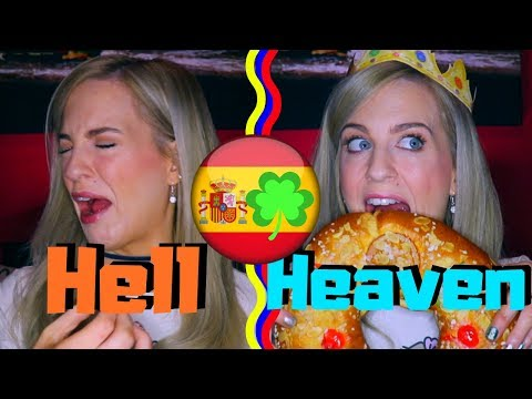 IRISH Girl Tries SPANISH Snacks For the First Time