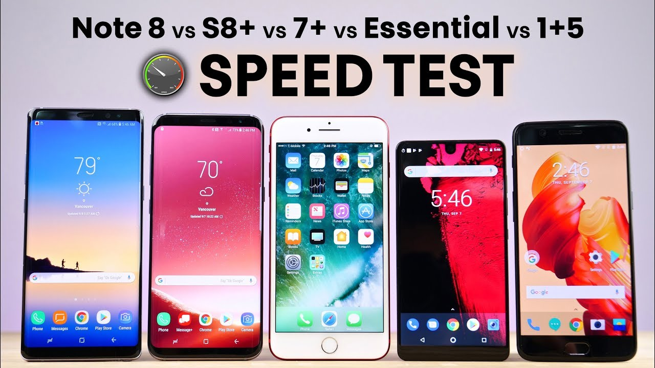 Iphone x vs samsung s8 plus vs note 8