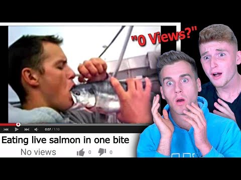Reacting To Videos With 0 Views! (So Weird)