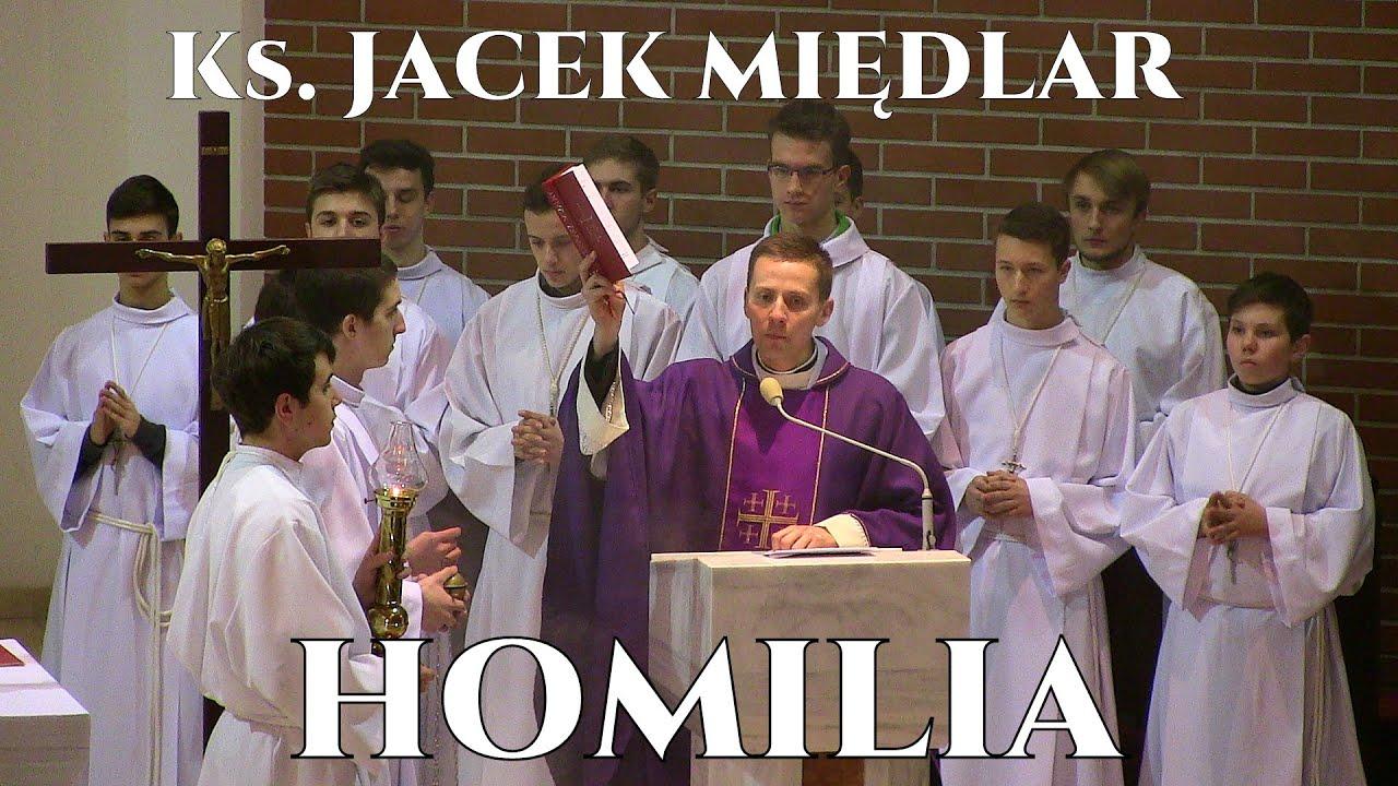 Ks. Jacek Międlar - pożegnalna Msza Św. homilia - Wrocław