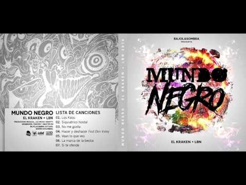 BAJOLASOMBRA -  Mundo Negro (FULL ÁLBUM) 2016