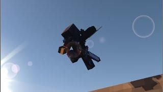 minecraft air assassination animation