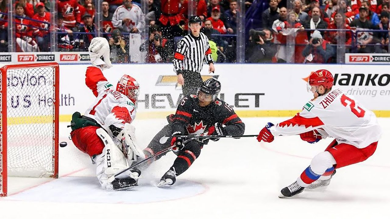 Akil Thomas Gold Medal Winning Goal For Team Canada 2020 World Junior Championship Game Youtube
