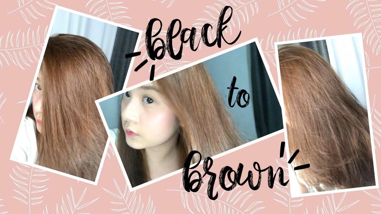 Diy Hair Dye No Bleach Philippines Pixiepeach Youtube