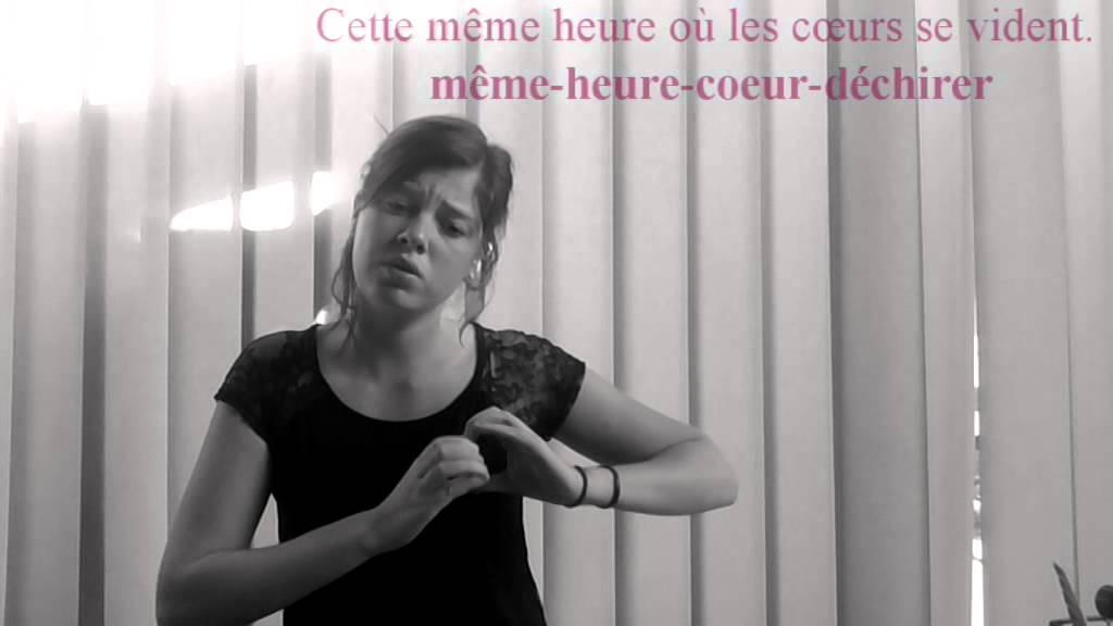 Chanson lsf louane maman youtube for Musique de louane