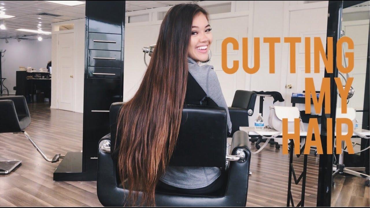 Cutting My Hair Viv Vlogs