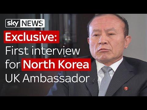 Exclusive: North Korea UK ambassador's first interview