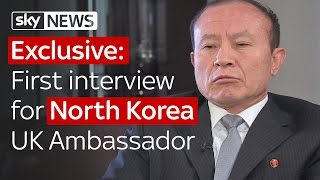 exclusive north korea uk ambassadors first interview