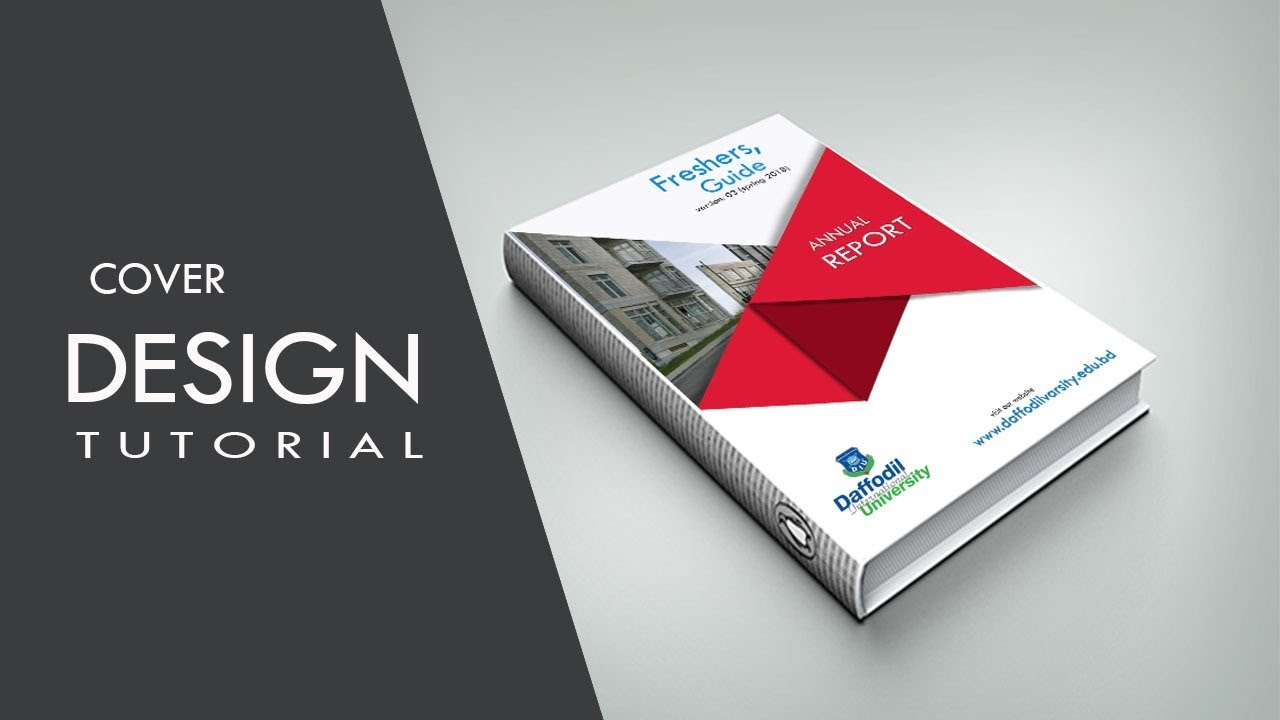 how to make a professional cover page designing tutorial