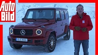 Mercedes G 350d (2018) Fahrbericht / Review / Vorstellung