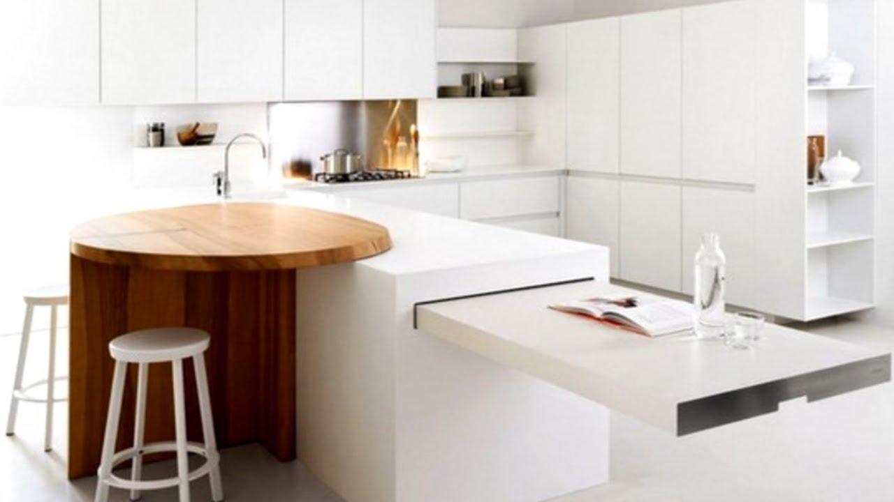 30 minimalist kitchen design ideas youtube for Kitchen decorating ideas youtube