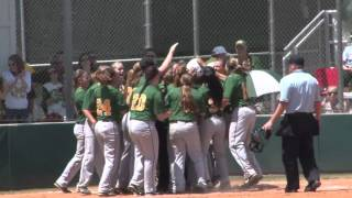 NCAA Regional: Tech Softball vs. Upper Iowa Highlights 5/7/16