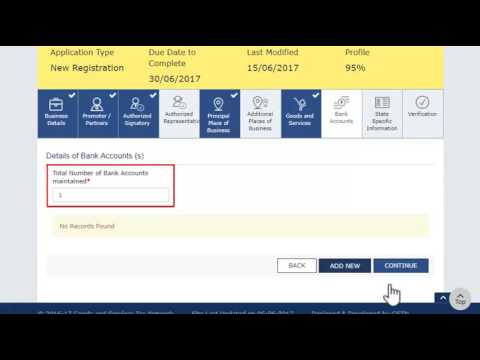 GST New Registration Procedure for Taxpayer