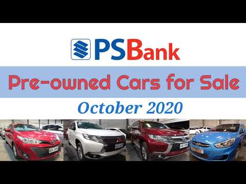 Psbank Pre Owned Cars For Sale List Of Low Price Cars October 2020 Youtube