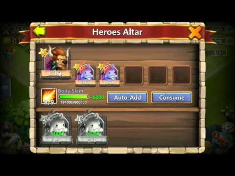 Minotaur Chieftain 9/9 Skill And 9 Star INSANE BEAST Castle Clash Raiding Hero