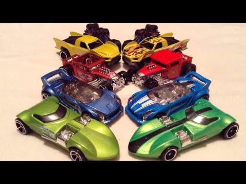 Team Hot Wheels Origin Of Awesome Comparison Mainline Vs 5 Pack