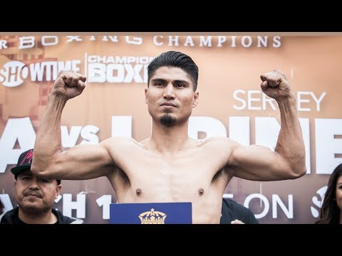 Garcia Vs. Lipinets: Weigh-In   SHOWTIME CHAMPIONSHIP BOXING