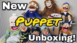 New PUPPET Unboxing! (SML) - Jeffy, Goodman, Brooklyn Guy and More!