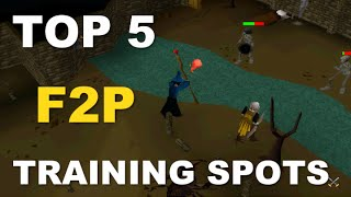 Oldschool Runescape Top 5 Best F2P Training Spots