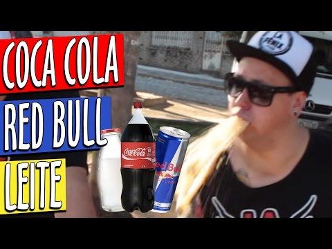 DESAFIO - Coca Cola com Leite e Red Bull