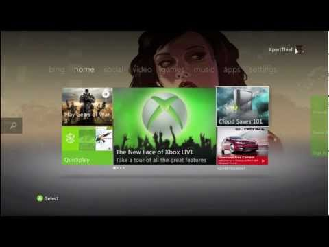 Introduction & Tour of The New Xbox 360 Dashboard!