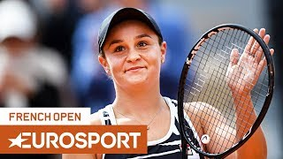 Ashleigh Barty vs Markéta Vondroušová Highlights | Roland Garros 2019 Final | Eurosport