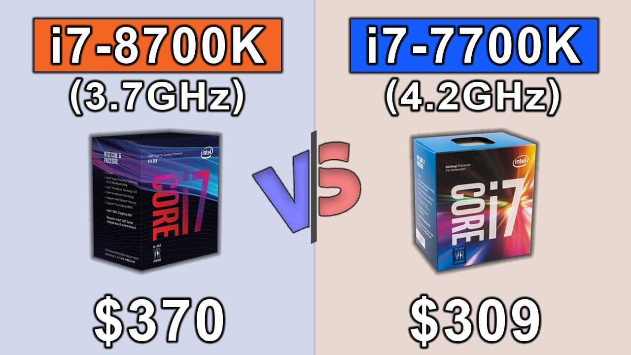 8700k Vs 7700k