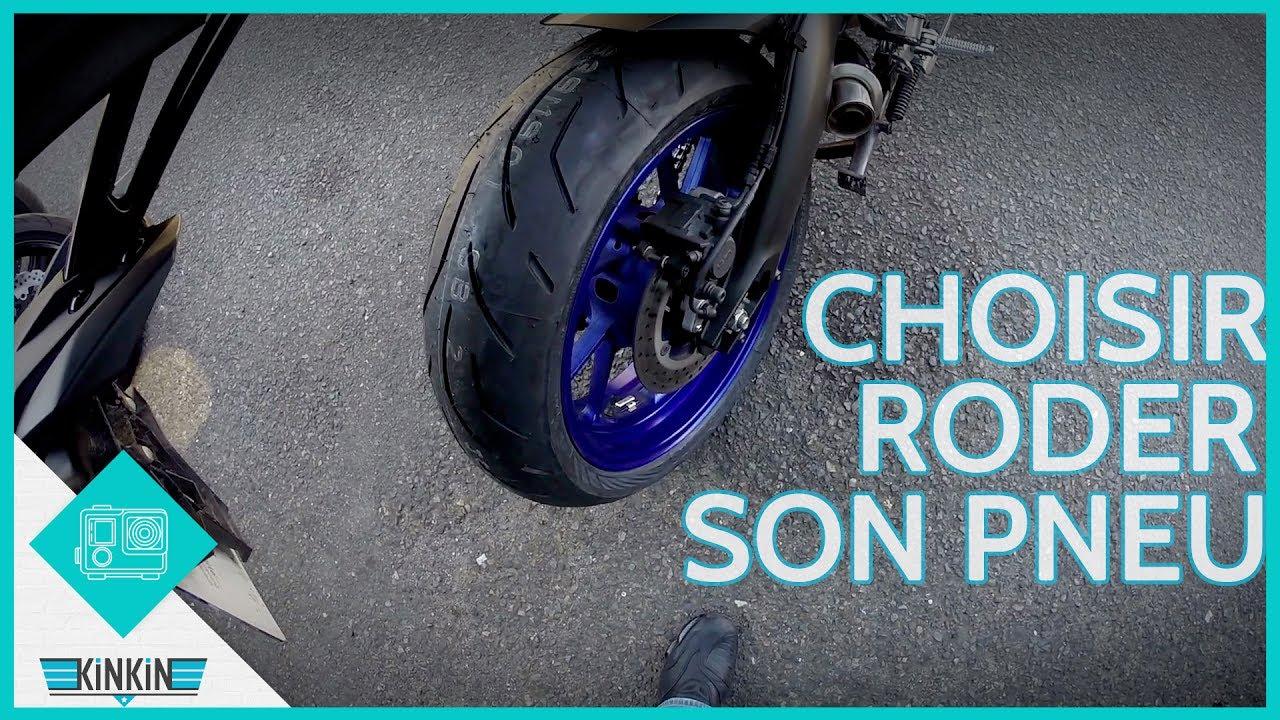 Roder un pneu moto