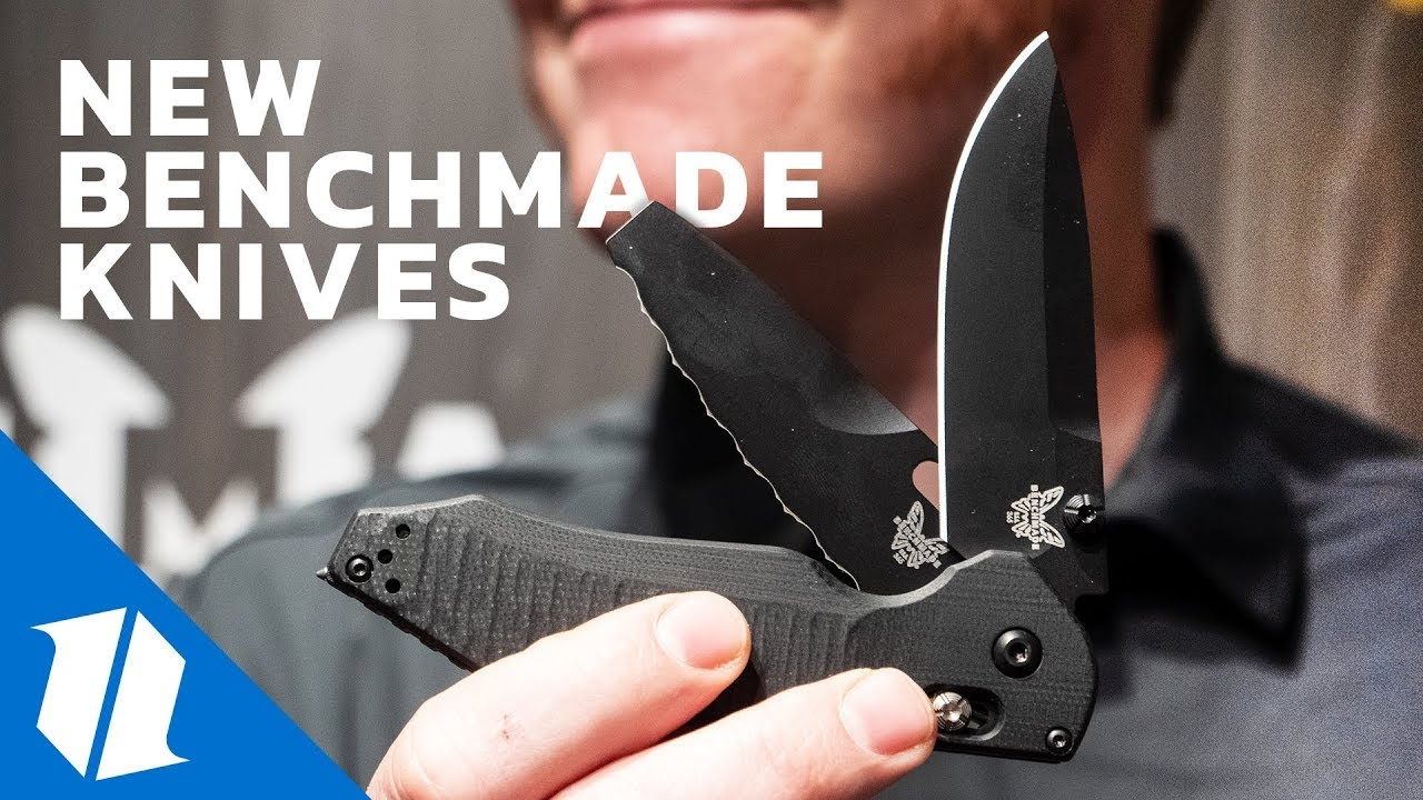 NEW Benchmade Knives | SHOT Show 2019