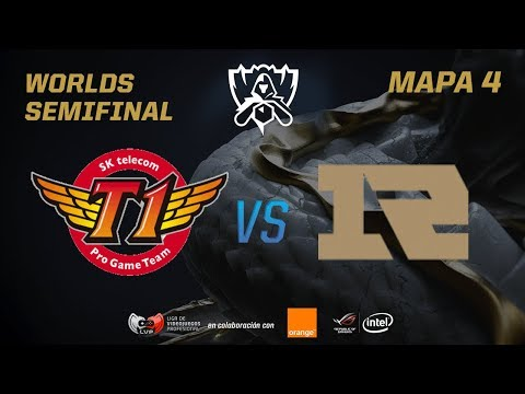 SK TELECOM T1 VS ROYAL NEVER GIVE UP - SEMIFINAL - WORLDS 2017 - MAPA 4