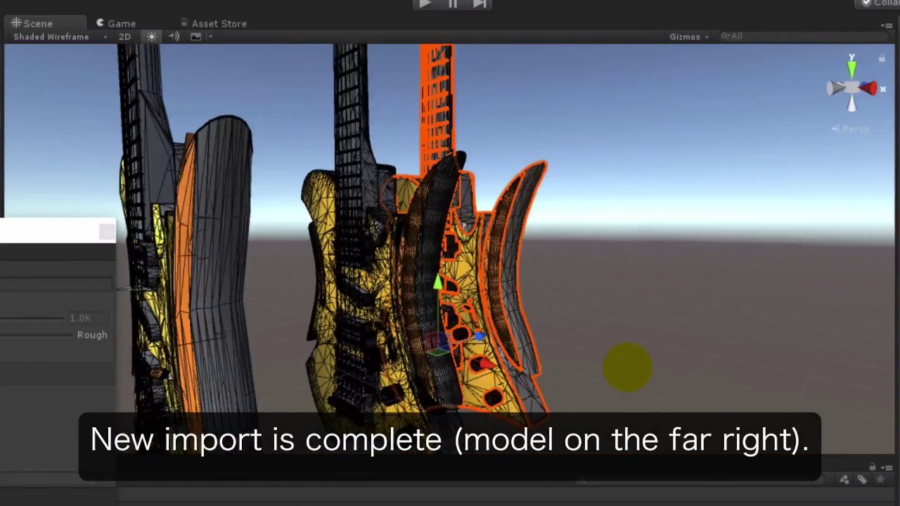 Unity CAD Importer Tutorial #03 Detail settings