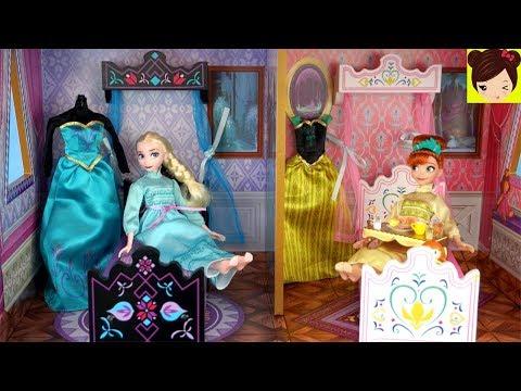 Frozen Elsa y Ana Rutina de Mañana...