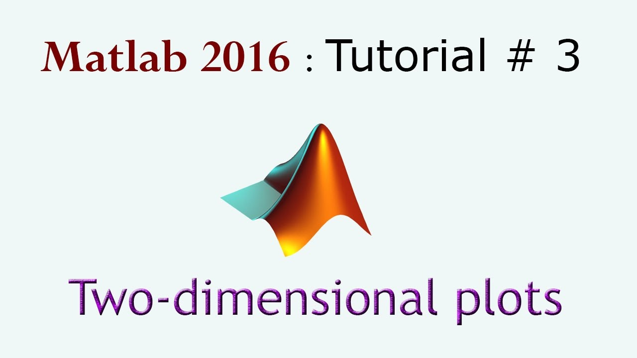Two-dimensional plots in Matlab