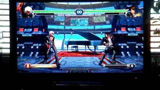 The King of Fighters XIII K's EX/Special moves demonstration, and some combos.